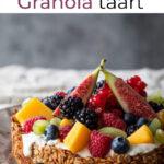 ontbijt recept granola taart van Miljuscka