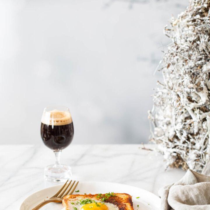 Parmezaan toast met ei