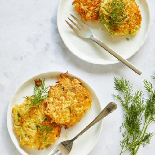 aardappelkoekjes met dille