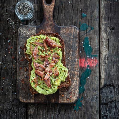 Broodje avocado recept