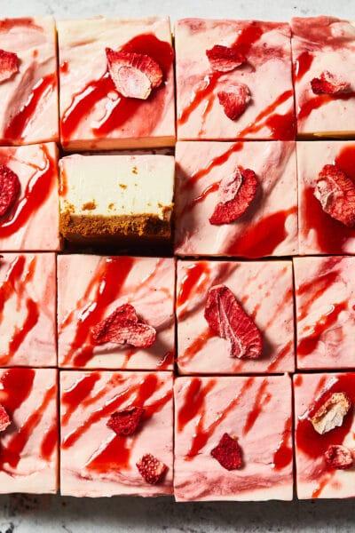 Valentijns cheesecake