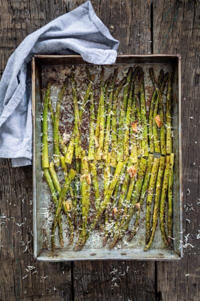 groene asperges recept