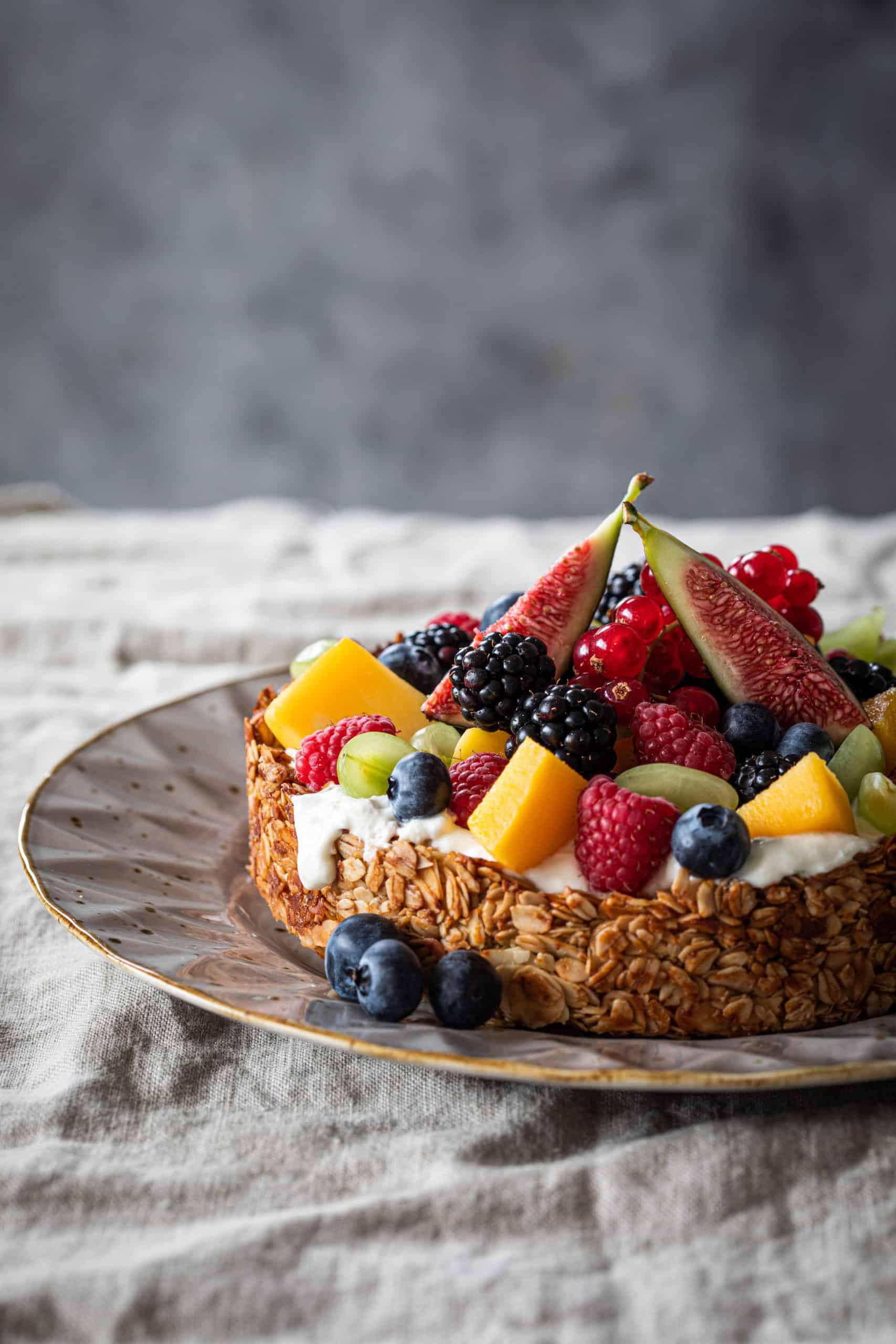 Granola taart