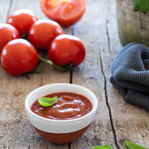 Zelf tomatenketchup maken