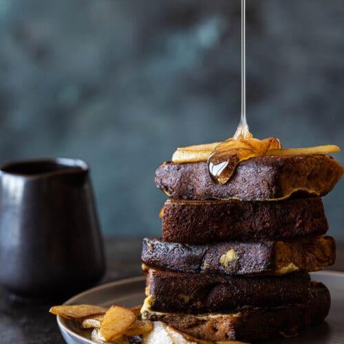 Ontbijtkoek wentelteefjes
