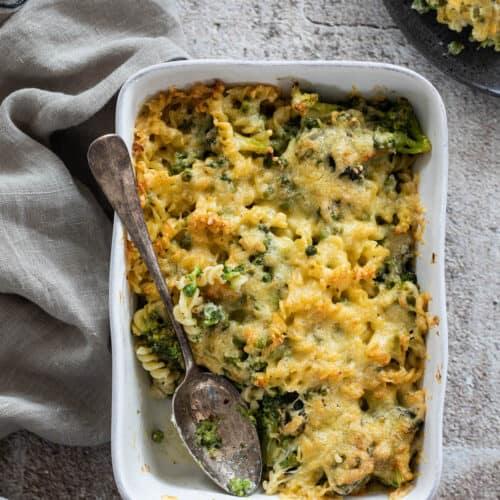 Pasta ovenschotel met broccoli