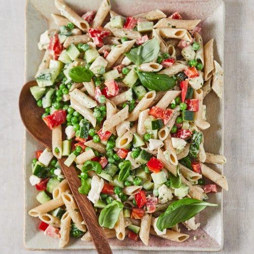 volkoren pastasalade