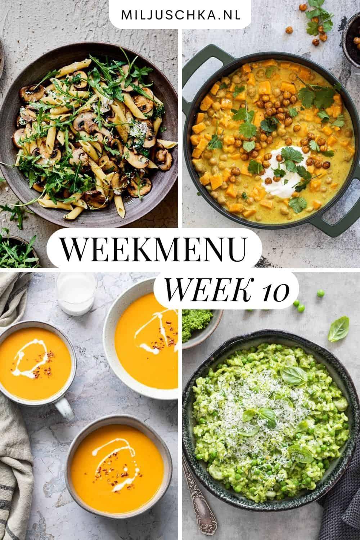 weekmenu week 10