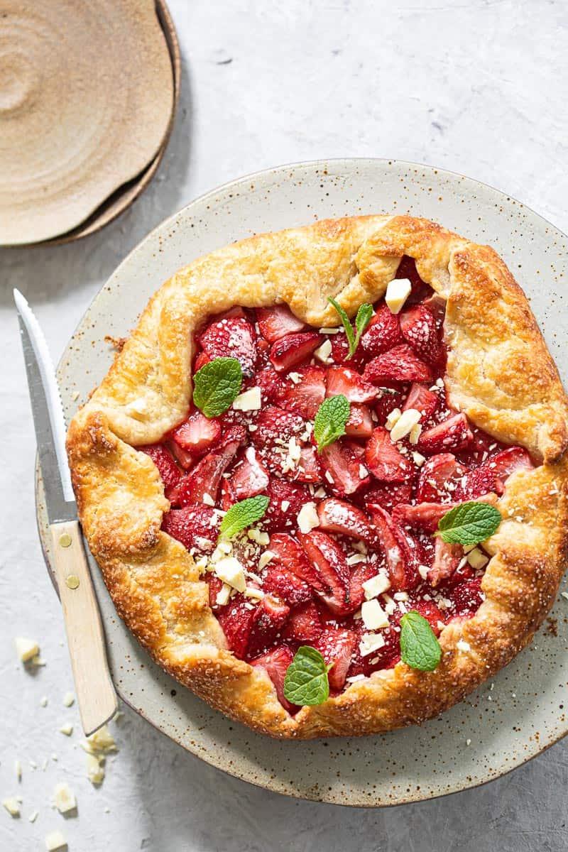 aardbeien galette