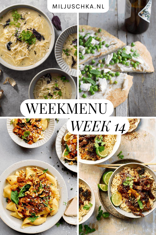 weekmenu week 14