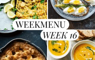 weekmenu week 16