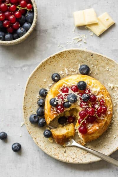 Mini cheesecakes met rood fruit