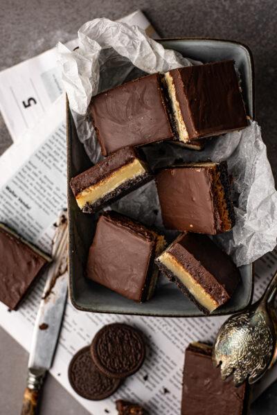 Oh My Foodness oreo boterkoek met chocoladefudge 1